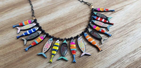 collier poisson sardine lol lolilota pattesdechat