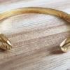 bracelet acier jonc