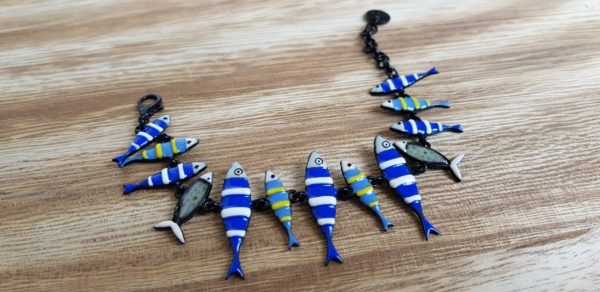 bracelet lol sardines bijoux pattesdechat.fr