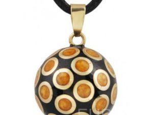 bola de grosse cercle ambre
