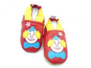 chaussons bébé enfant clown