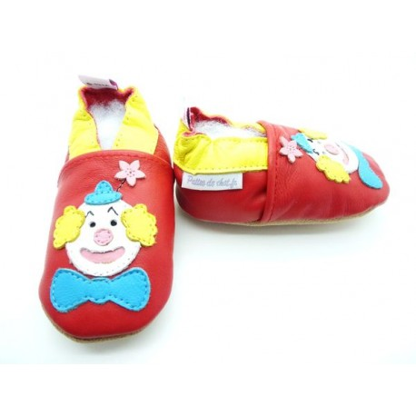 chausson-bebe-clown5