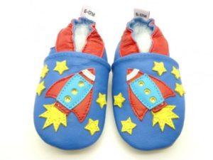 chaussons bébé enfant fusée