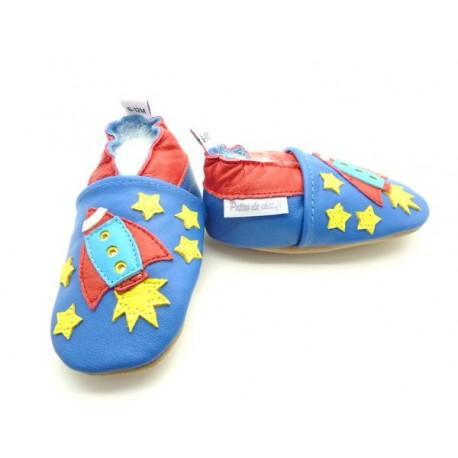 chaussons enfant fusée