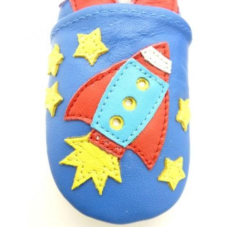 chaussons bébé fusée