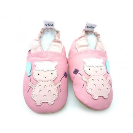 chaussons bébé enfant mouton
