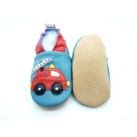 chaussons enfant pompier