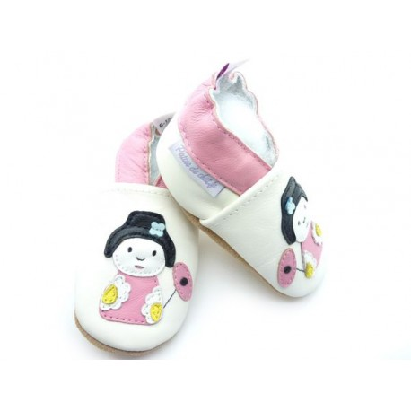 chaussons poupée japonaise