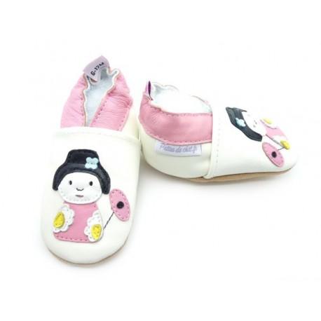 chaussons bébé poupée japonaise