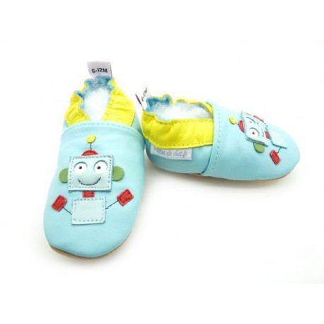 chaussons robot
