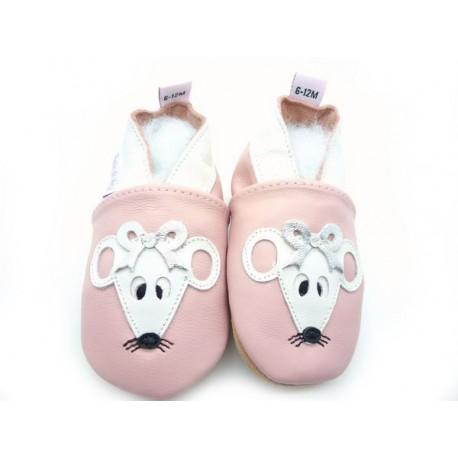 chaussons bébé enfant souris