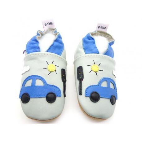 chaussons bébé enfant voiture