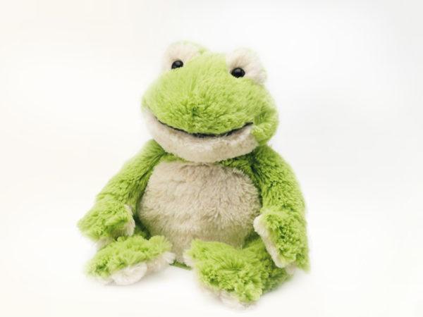 peluche bouillotte grenouille