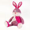 peluche bouillotte tricotée lapin