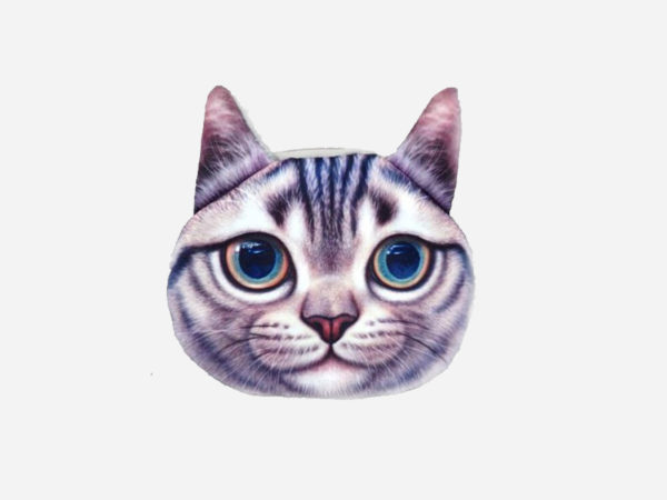 porte-monnaie chat tigré