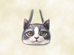 sac bandoulière chat