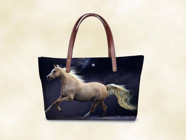 sac femme 3D cheval