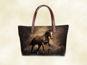 sac femme bandoulière cheval