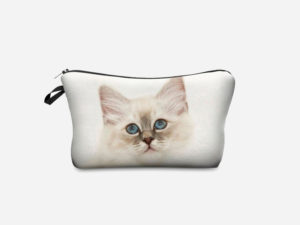 trousse maquillage chaton