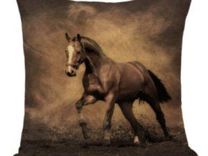 housse de coussin cheval